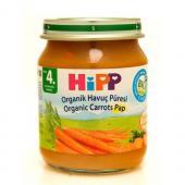Hipp Kavanoz Maması Organik Havuç Püresi 125 Gr 6`lı Paket