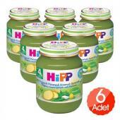 Hipp Kavanoz Maması Patatesli Ispanak 125 Gr 6`lı Paket