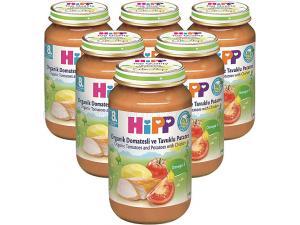 Organik Domatesli ve Tavuklu Patates Püresi 125 Gr 6`lı Paket Hipp