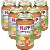 Hipp Organik Domatesli ve Tavuklu Patates Püresi 125 Gr 6`lı Paket