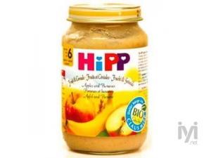 Organik Elma ve Muz Puresi 190gr Hipp