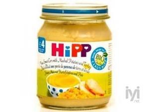 Organik Misirli ve Hindili Patates 125gr Hipp
