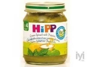 Organik Patatesli Ispanak 125 gr Hipp