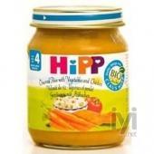 Hipp Organik Pirincli ve Tavuklu Sebze 125gr