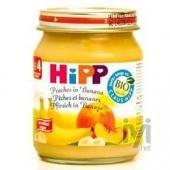 Hipp Organik Şeftali Muz Püresi 125gr