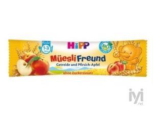 Organik Şeftali Ve Elmalı Meyve Tahıl Barı Hipp