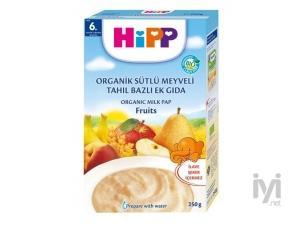 Organik Sütlü Meyveli Tahıl Bazlı Ek Gıda 250gr Hipp