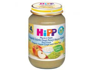 Organik Üzümlü Elmalı Meyve Püresi Hipp