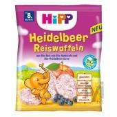 Hipp Organik Yabanmersinli Pirinçli Bebek Gofreti 35gr 3569