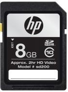 8GB Secure Dijital SD Kart Class 10 HP