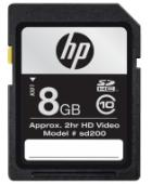 HP 8GB Secure Dijital SD Kart Class 10