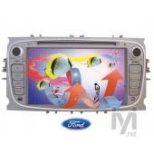 "Kamosonic 7"" TV/DVD/GPS Navigasyon Sist. Ford için (KD F11)"