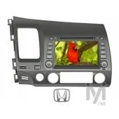 "Kamosonic 7"" TV/DVD/GPS Navigasyon Sist. Honda için (KD H15)"