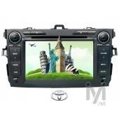 "Kamosonic 7"" TV/DVD/GPS Navigasyon Sist. Toyota için (KD T26)"