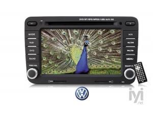 """7"""" TV/DVD/GPS Navigasyon Sist. Wolkswagen için (KD W27) Kamosonic"""