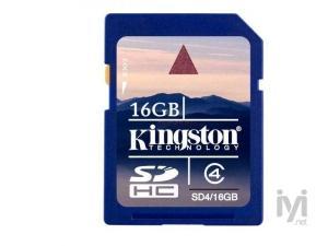 16GB SDHC Class 4 SD4/16GB Kingston