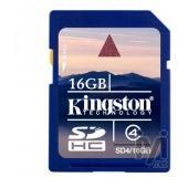 Kingston 16GB SDHC Class 4 SD4/16GB