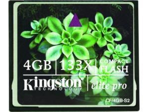CF 4GB Elite Pro 133x CF/4GB-S2 Kingston