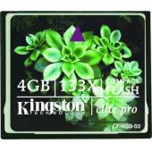 Kingston CF 4GB Elite Pro 133x CF/4GB-S2