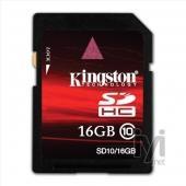 Kingston SDHC 16GB Class 10 SD10/16GB