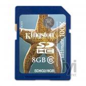 Kingston SDHC 8GB Class 10 SD10/8GB