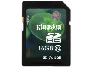 SDHC Video 16GB Class 10 SD10V/16GB Kingston
