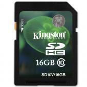 Kingston SDHC Video 16GB Class 10 SD10V/16GB