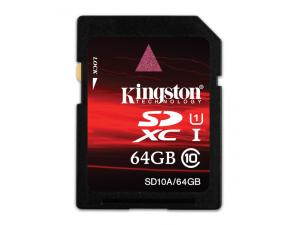 SDXC 64GB Class 10 SD10A/64GB Kingston