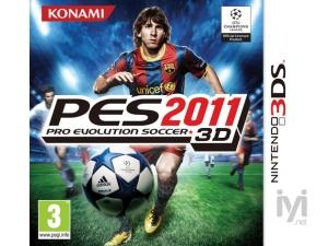 Pro Evolution Soccer 2011 - 3D (Nintendo 3DS) Konami
