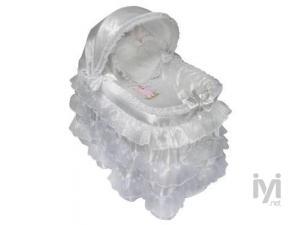 Little Prince Lüks Saten Yenidoğan Sepet Beşik