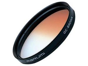 72mm Gc Brown degrade filtre Marumi