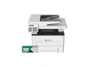 Lexmark MB2236ADW Fotokopi Tarama Fax Dubleks Wifi Monochrome Çok Fonksiyonlu Lazer Yazıcı +  B22500 Toner 3000 Sayfa Siyah