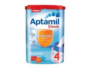 Aptamil Çocuk 4 Devam Sütü 900 gr Milupa