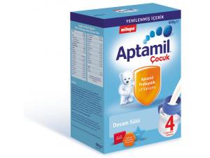 Aptamil Çocuk 4 Devam Sütü Toz 600 gr Milupa