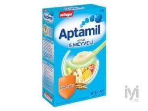Milupa Aptamil Sütlü 5 Meyveli Kaşık Maması 250gr