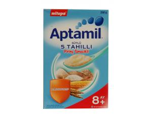 Aptamil Sütlü 5 Tahıllı Pirinç Tanecikli Milupa