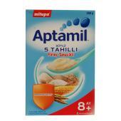 Milupa Aptamil Sütlü 5 Tahıllı Pirinç Tanecikli