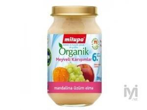Kavanoz Mamasi Organik Mandalina Uzum Elma 200 gr Milupa
