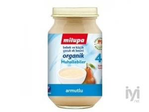 Milupa Kavanoz Mamasi Organik Armutlu Yogurtlu 200gr Milupa