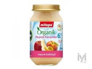 Milupa Kavanoz Mamasi Organik Meyve Kokteyli 200gr Milupa