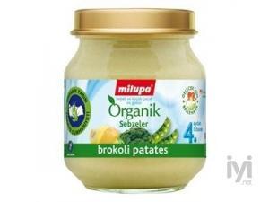 Organik Brokoli Patates 125 gr Milupa