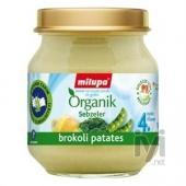 Milupa Organik Brokoli Patates 125 gr