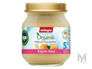 Organik Kayısı Muz 125 gr Milupa