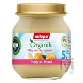 Milupa Organik Kayısı Muz 125 gr