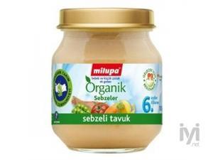 Organik Sebzeli Tavuk 125 gr Milupa
