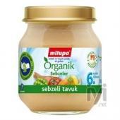 Milupa Organik Sebzeli Tavuk 125 gr
