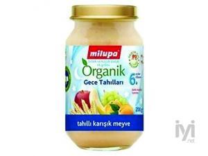 Organik Tahıllı Karışık Meyveli Kavanoz Maması 200 gr Milupa