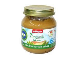 Organik Tavuklu Karışık Sebze Milupa