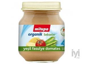 Organik Yesil Fasulye Domates 125 gr Milupa
