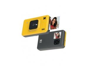 Kodak Mini Shot Combo 2/C210 - Anında Baskı Dijital Fotoğraf Makinesi - Sarı